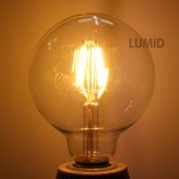 에디슨 LED 전구/G95/4W