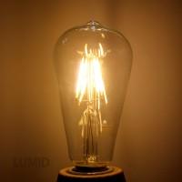 에디슨 LED 4W 램프[ST64]