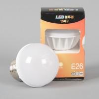 씨티 LED 4W 불투명 인찌구 램프(E26)