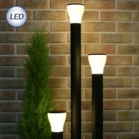 슬림 LED 잔디등 머쉬룸 (블랙)