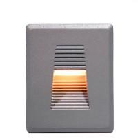 4301 LED 사각 계단매입 3W (회색)(실내/외겸용)