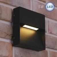 LED 3012 사각 외부벽등 5W (다크그레이)