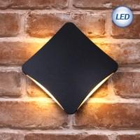 LED 3073 외부벽등 12W (블랙)