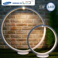 [삼성 LED CHIP 사용]LED 클리어 잔디등 COB 5W(화이트)