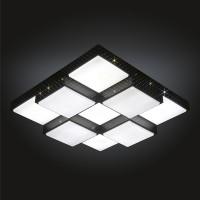 큐브 블랙 LED 75W 거실등