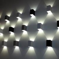 LED 비비사각 벽등 B형