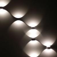 LED 비비사각 벽등 G형