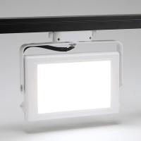 사각 LED 30W 확산 투광기 레일형
