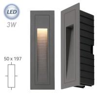 LED 211 외부 계단매입 (그레이)